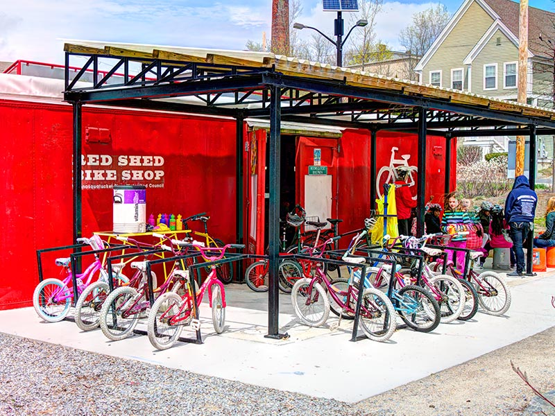Red Shed Bike Programs - Woonasquatucket River Watershed Council